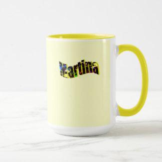 Martina's coffee mug