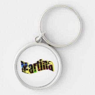 Martina's key chain