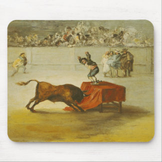 Martincho's Other Folly in the Bull Ring Mousepad