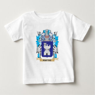 Martine Coat of Arms - Family Crest Tee Shirt