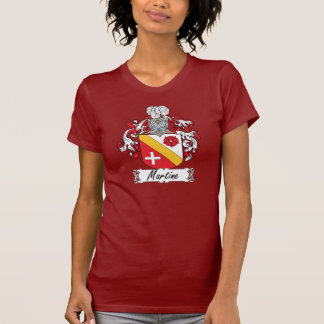 Martine Family Crest T Shirts
