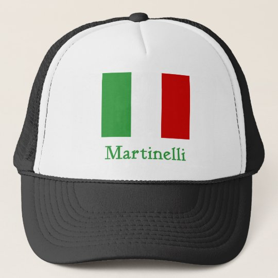 Martinelli Italian Flag Trucker Hat