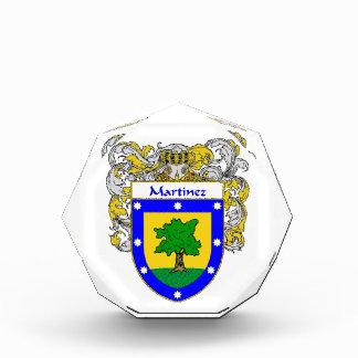 Martinez Coat of Arms Family Crest Awards