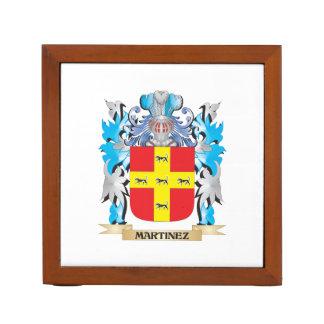Martinez Coat of Arms - Family Crest Desk Organizers