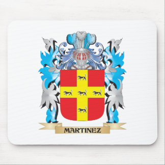 Martinez Coat of Arms - Family Crest Mouse Pad