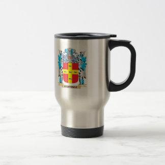 Martinez Coat of Arms - Family Crest 15 Oz Stainless Steel Travel Mug
