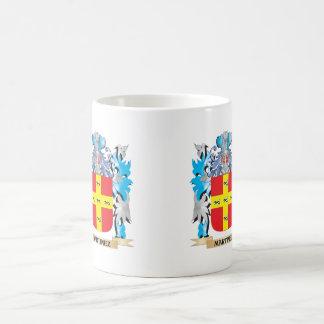 Martinez Coat of Arms - Family Crest Classic White Coffee Mug