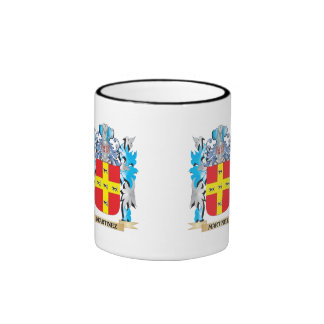 Martinez Coat of Arms - Family Crest Ringer Coffee Mug