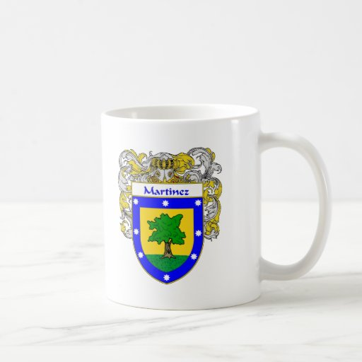Martinez Coat of Arms (Mantled) Coffee Mugs