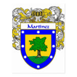 Martinez Coat of Arms (Mantled) Post Cards