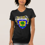 Martinez Coat of Arms (Mantled) T Shirt