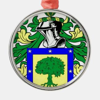 Martinez Coat of Arms Metal Ornament