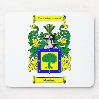 Martinez Coat of Arms Mouse Pad