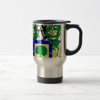 Martinez Coat of Arms 15 Oz Stainless Steel Travel Mug
