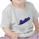 Martínez en azul camiseta