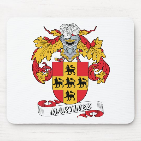 Martinez Family Crest Mouse Pad