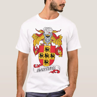 Martinez Family Crest T-Shirt