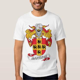 Martinez Family Crest T-shirts