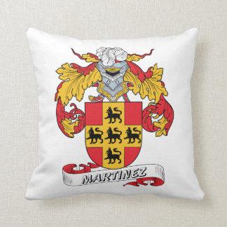 Martinez Family Crest Throw Pillow