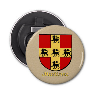 Martinez Historical Arms Shield Bottle Opener