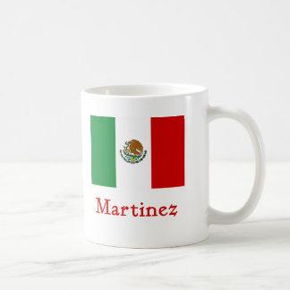 Martinez Mexican Flag Coffee Mug
