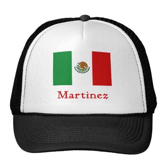 Martinez Mexican Flag Trucker Hat