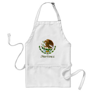 Martinez Mexican National Seal Adult Apron