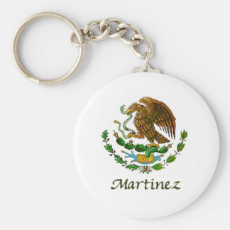 Martinez Mexican National Seal Keychain