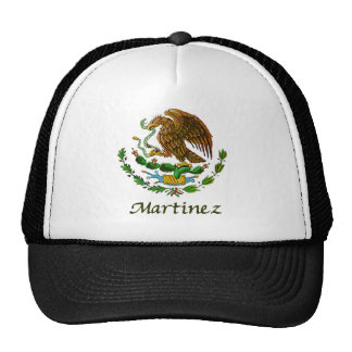 Martinez Mexican National Seal Trucker Hat
