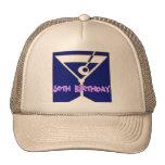 Martini 50th Birthday Gifts Trucker Hat
