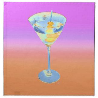 martini 7 cloth napkin