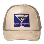 Martini 95th Birthday Gifts Trucker Hat