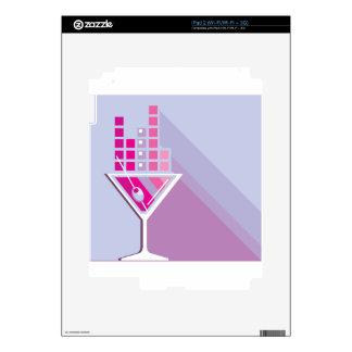 Martini Abstract iPad 2 Decal