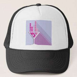 Martini Abstract Trucker Hat