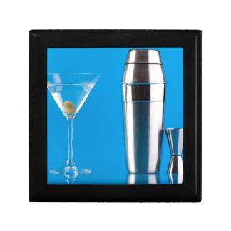 Martini and a shaker keepsake box