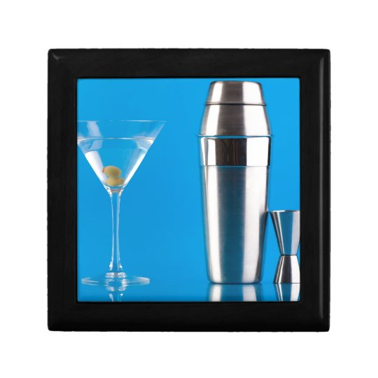 Martini and a shaker keepsake box