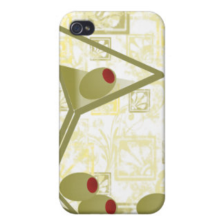 Martini and Olives Cases For iPhone 4