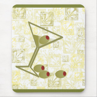 Martini and Olives Mouse Pad
