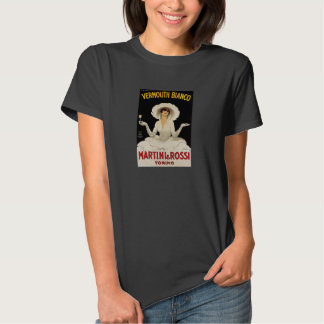 Martini and Rossi vintage ad tee shirt