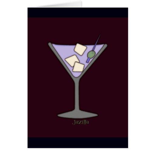 ¡Martini, aprisa! Tarjeta Pequeña