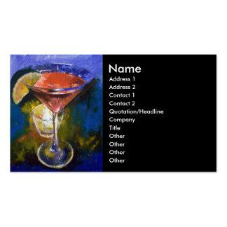 Martini Business Card