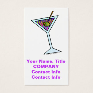 MARTINI BUSINESS CARDS