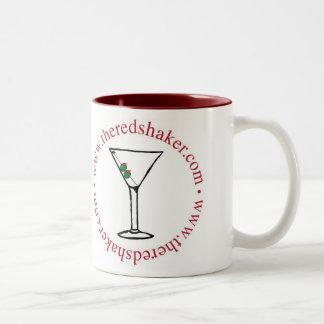 martini circle mug two tone