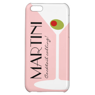 Martini Cocktail iPhone 5C Case - Pink