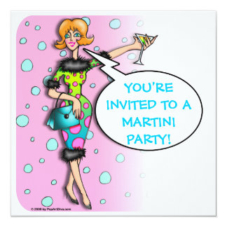 Martini - Cocktail Party Invitation