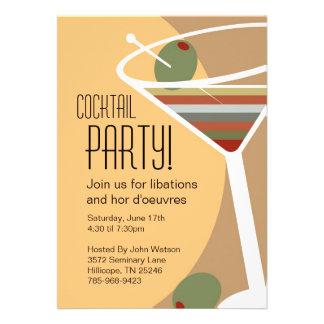 Martini Cocktail Party Invitations