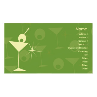 Martini Dazzle - Business Business Cards