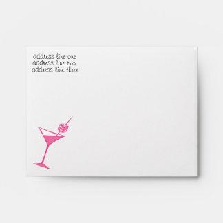 Martini Dice Envelope