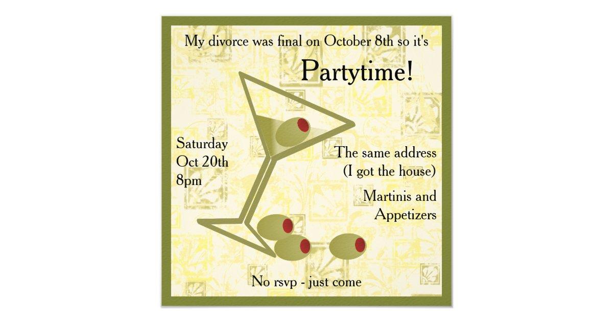 Divorce Party Invitations - annesutu