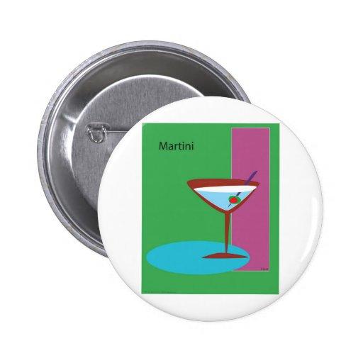 Martini en el verde (ATM-004) Pin